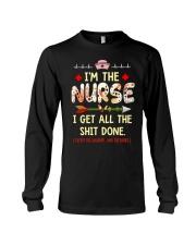 nurse shirt Long Sleeve Tee thumbnail