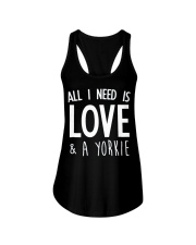 yorkie shirt Ladies Flowy Tank thumbnail