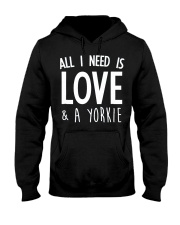 yorkie shirt Hooded Sweatshirt thumbnail