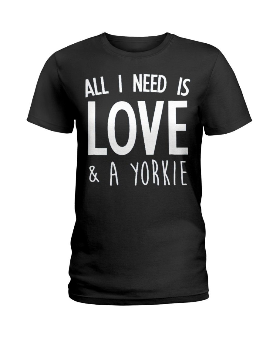 yorkie shirt Ladies T-Shirt