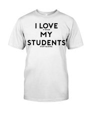 teacher shirt Classic T-Shirt tile