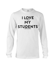 teacher shirt Long Sleeve Tee thumbnail