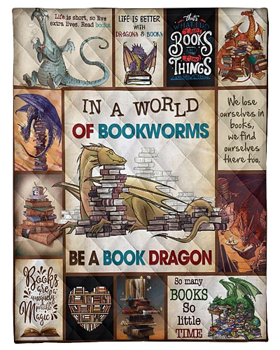 LIBRARIAN- IN THE WORLD OF BOOKWORMS QUILT