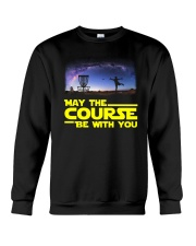 MAY THE COURSE BE WITH YOU Crewneck Sweatshirt thumbnail