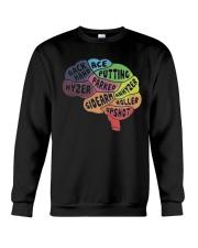 Disc Golf Brain Crewneck Sweatshirt thumbnail