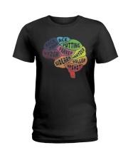 Disc Golf Brain Ladies T-Shirt thumbnail