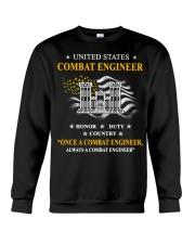 Combat Engineer Us Army Combat Engineer Army Com 3 Crewneck Sweatshirt thumbnail
