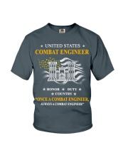 Combat Engineer Us Army Combat Engineer Army Com 3 Youth T-Shirt thumbnail