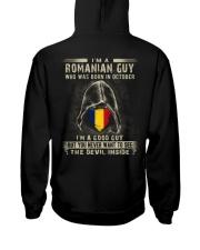 ROMANIAN GUY - 010 Hooded Sweatshirt tile