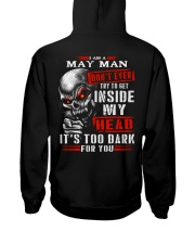 MY HEAD 05 Hooded Sweatshirt back
