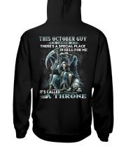 THRONE 10 Hooded Sweatshirt back