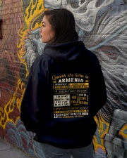 Queens Armenia Hooded Sweatshirt lifestyle-unisex-hoodie-back-1