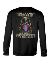 I'm A Good Guy - Mongolian Crewneck Sweatshirt thumbnail