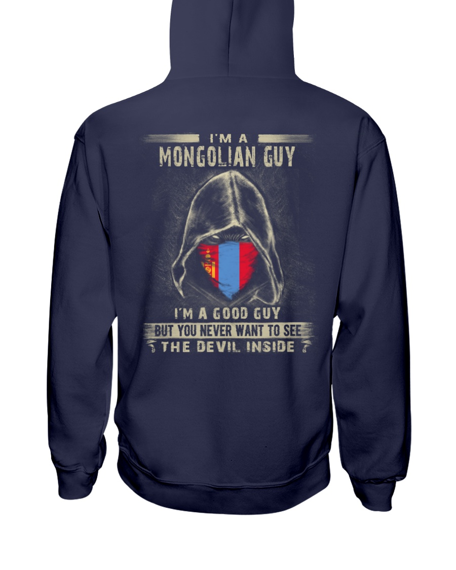 I'm A Good Guy - Mongolian Hooded Sweatshirt