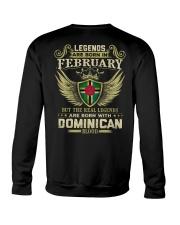 LG DOMINICAN 02 Crewneck Sweatshirt thumbnail