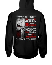 KING THREE SIDE 1 Hooded Sweatshirt back