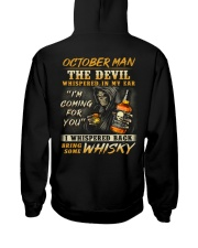 DEVIL WHISKY 10 Hooded Sweatshirt back