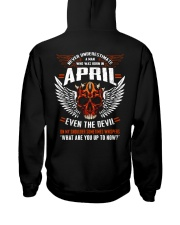 EVEN THE DEVIL 4 Hooded Sweatshirt back