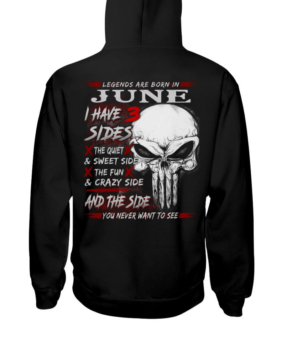 3 SIDE NEW 6 Hooded Sweatshirt