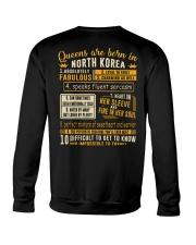 Queens North Korea Crewneck Sweatshirt thumbnail