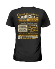 Queens North Korea Ladies T-Shirt thumbnail