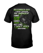 MY DARKEST 12 Classic T-Shirt thumbnail