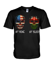 My Blood - Kenya V-Neck T-Shirt thumbnail