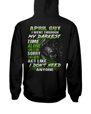 MY DARKEST 4 Hooded Sweatshirt back