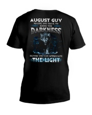 DARKNESS 8 V-Neck T-Shirt thumbnail