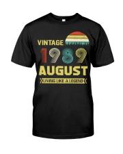 LIVING 89 8 Classic T-Shirt thumbnail