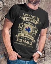 Live In America - Made In Australia Classic T-Shirt lifestyle-mens-crewneck-front-4