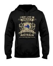 Live In America - Made In Australia Hooded Sweatshirt thumbnail