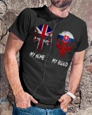 Home United Kingdom - Blood Slovakia Classic T-Shirt lifestyle-mens-crewneck-front-4