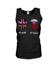 Home United Kingdom - Blood Slovakia Unisex Tank thumbnail