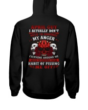 ANGER 4 Hooded Sweatshirt back
