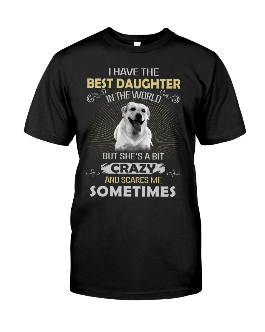 Dog - Daughter - Labrador Retriever  Classic T-Shirt