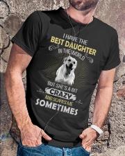 Dog - Daughter - Labrador Retriever  Classic T-Shirt lifestyle-mens-crewneck-front-4