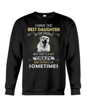 Dog - Daughter - Labrador Retriever  Crewneck Sweatshirt thumbnail