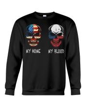 My Blood - Czech Crewneck Sweatshirt thumbnail