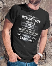 Smartass - Guy 010 Classic T-Shirt lifestyle-mens-crewneck-front-4