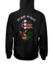 Blood Kenya Hooded Sweatshirt back