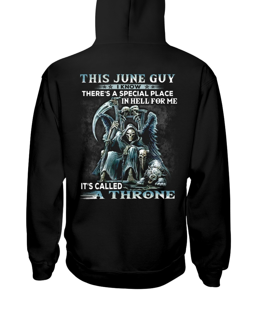 THRONE 6 Hooded Sweatshirt