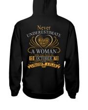 NEVER WOMAN 78-010 Hooded Sweatshirt back
