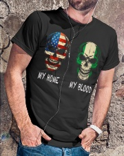 My Blood - Nigieria Classic T-Shirt lifestyle-mens-crewneck-front-4
