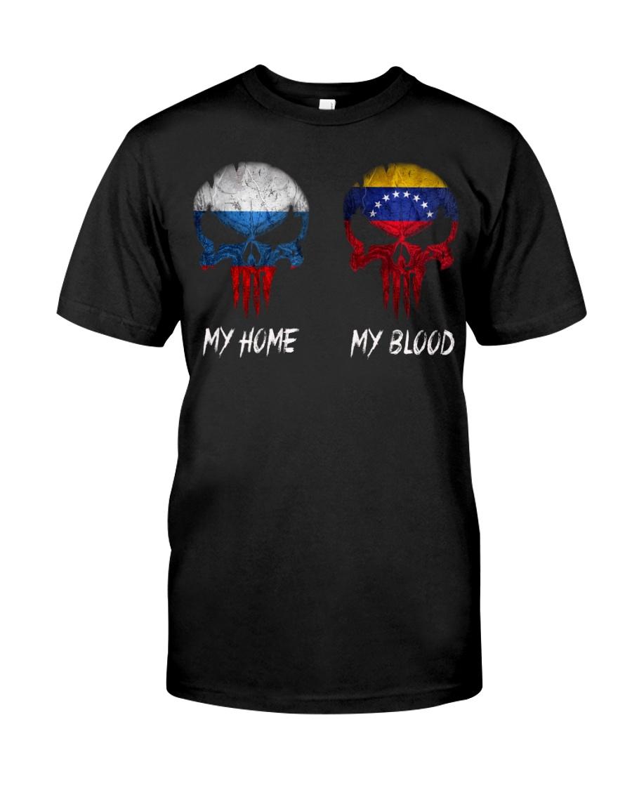 Home Russia - Blood Venezuela Classic T-Shirt