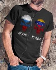 Home Russia - Blood Venezuela Classic T-Shirt lifestyle-mens-crewneck-front-4