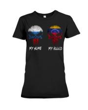 Home Russia - Blood Venezuela Premium Fit Ladies Tee thumbnail