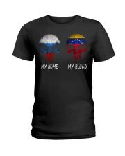 Home Russia - Blood Venezuela Ladies T-Shirt thumbnail