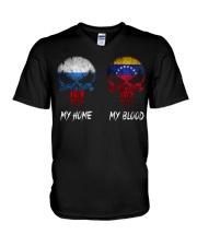 Home Russia - Blood Venezuela V-Neck T-Shirt thumbnail