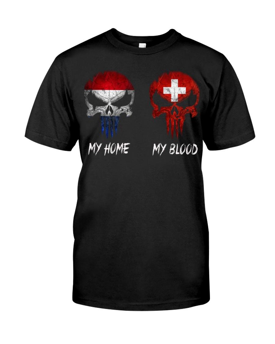 Home Netherlands - Blood Switzerland Classic T-Shirt